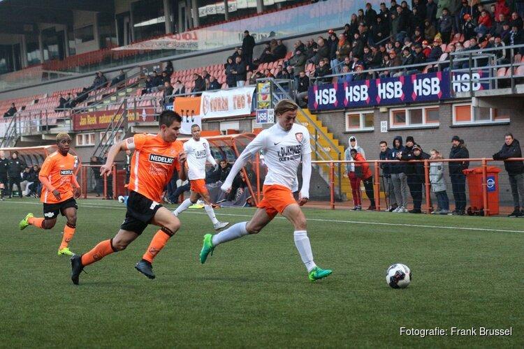 Jong FC Volendam en TEC delen punten in topper