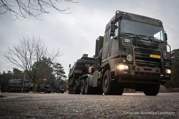 Militaire oefening 2 t/m 6 maart