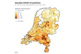 RIVM: Meer dan 1000 besmettingen erbij sinds gisteren, inmiddels 434 personen overleden