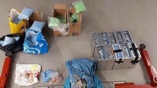 400 kilo xtc-pillen aangetroffen
